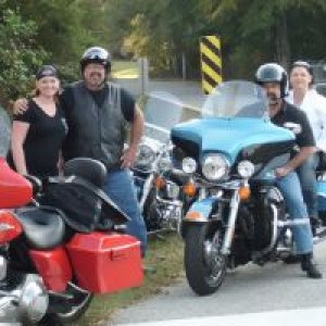Me and my Harley friends.